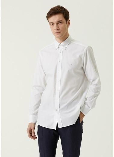 Etro Etro  Düğmeli Yaka Logolu Gömlek 101617695 Beyaz
